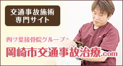 岡崎市交通事故治療・むち打ち治療.com